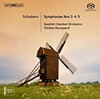 Schubert: Symphonies Nos. 3-5 by Swedish Chamber Orchestra