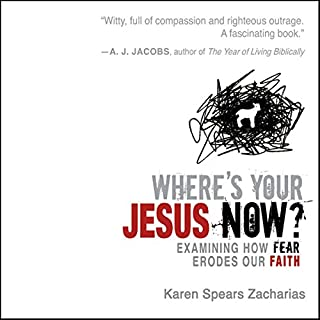 Where's Your Jesus Now?  audiobook cover art