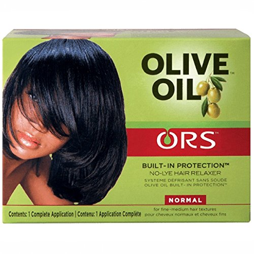 Organic Root Stimulator Protection Intégrée No-Lye Relaxer Cheveux Système Normal