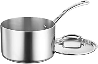 Cuisinart FCT193-18 French Classic Tri-Ply Stainless 3-Quart Saucepot with Cover