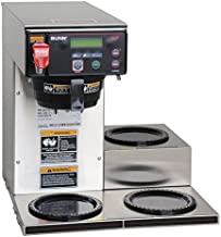 Bunn 38700.0009 Axiom DV-3 Lower Automatic Commercial Coffee Brewer with 3 Warmers (120V Standard),Gray