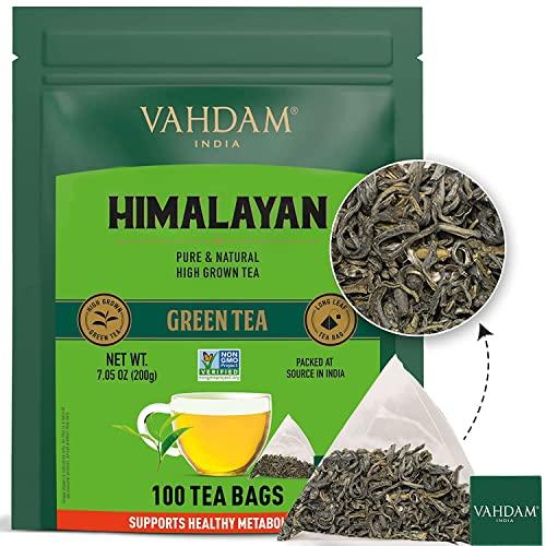 Vahdam -  , Grüner Tee Bio