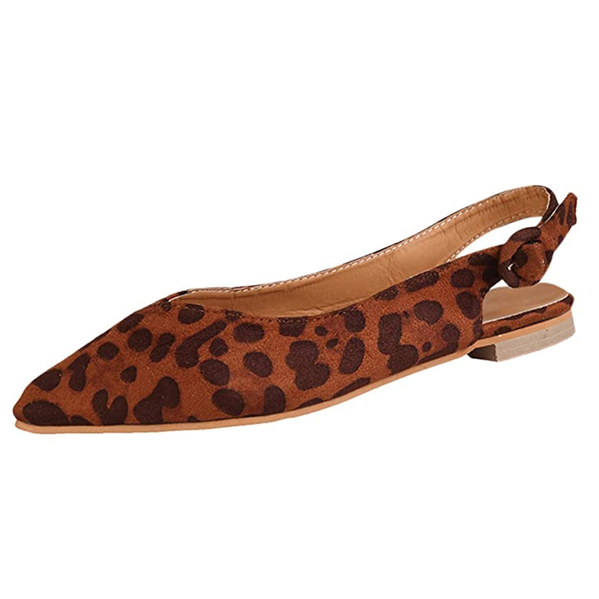 Tantisy ??? Women's Suede Single Shoes/Casual Loafers/Pointy Toe/Fashion Sandals/Heel High:1.5cm/0.6