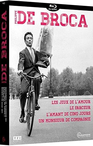 Philippe de Broca: Les jeux de l'amour + Le farceur + L'amant de cinq jours + Un Monsieur de compagnie [Italia] [Blu-ray]
