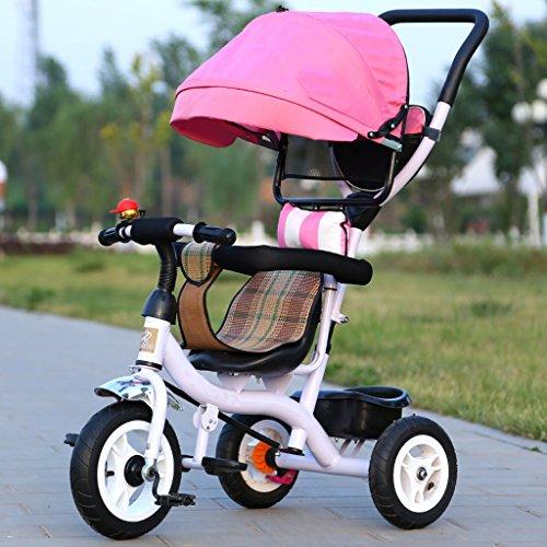 Sillas de Paseo Cochecito de bebé 1-3-5 años de Edad Rueda