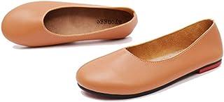 [リンゼ] 女性の靴 26.5cm ローファー ドライピング レディース モカシン 無地 滑り止め 通気 ドライピングシューズ こむぎいろ ストローパンプス バレエパンプス 靴 軽量 レディースシューズ 春 夏 秋 冬 歩きやすい おしゃれ 婦人靴