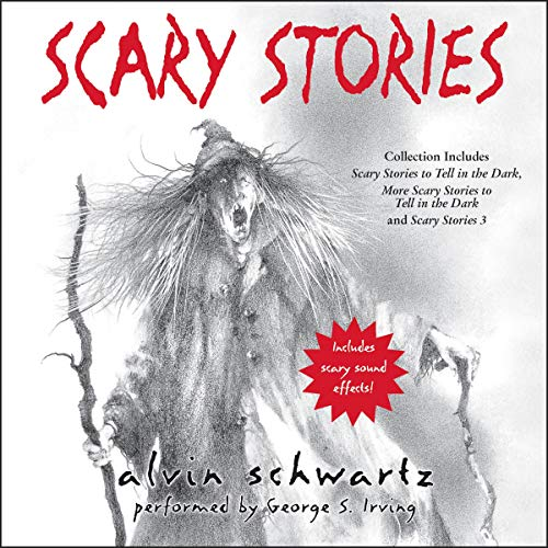 Scary Stories Audio Collection audiobook cover art