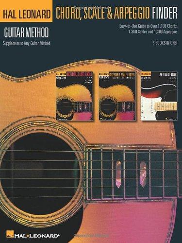 Hal Leonard Guitar Method: Guitar Chord, Scale & Arpeggio Finder: Lehrmaterial für Gitarre