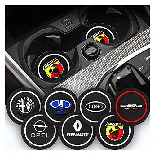 Emblema del capó delantero del coche 2pcs coche emblema sin deslizamiento almohadilla de agua taza de agua MAT compatible con BMW 1 2 3 4 5 6 7 Serie X1 x3 x4 x5 x6 x7 Z4 E46 E90 E60 F10 F11 G30 E81 A