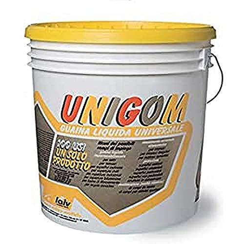 Laiv PPUNIGGR 01 Unigom, Guaina Liquida Impermeabilizzante Universale, Grigio, 18 Kg