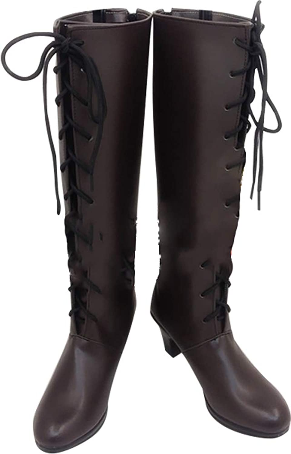 Whirl Cosplay Boots shoes for Black Butler Alois Trancy Dark Brown