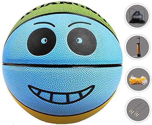 Great Deal! ZHOU.D.1 Basketball- Children's Basketball Indoor and Outdoor NO.4 Basketball 8.1 Inches...