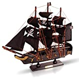 Brynnberg Barco de Madera Modelo - Barco Pirata - velero (Pirata 33cm)