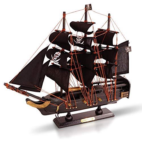 Brynnberg Barco de Madera Modelo - Barco Pirata - velero (
