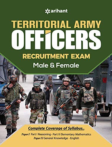 Territorial Army Officers Recruitment Exams 2019