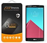 (3 Pack) Supershieldz for LG G4 Tempered Glass Screen Protector, Anti Scratch, Bubble Free