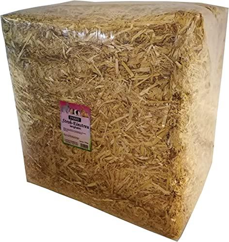 Stroh Bund Strohballen 10 kg perfektes Einstreu Futter Meerschweinchen Hasen Kaninchen Schafe Esel usw. stets frische Neue Ernte - Spitzenqualität