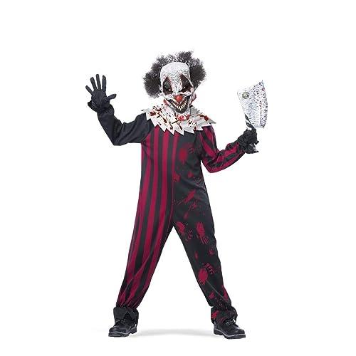 Captivating California Costumes Killer Klown Child Costume, Large