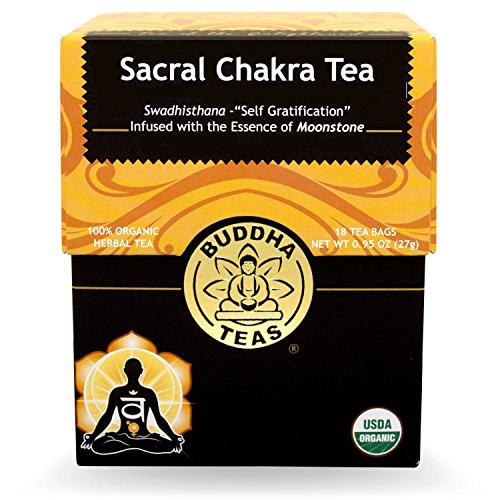 Buddha Teas Sacral Chakra Tea, 18 Count (Pack of 6)