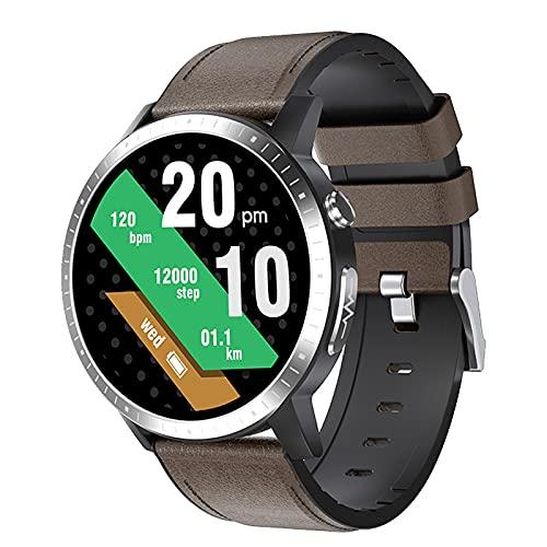 LSQ ECG PPG Smart Pulsera Smart Watch Monitor De Ritmo Cardíaco Monitor De La Presión Arterial Rastreador De Fitness Smart Watch para Android, iOS,B