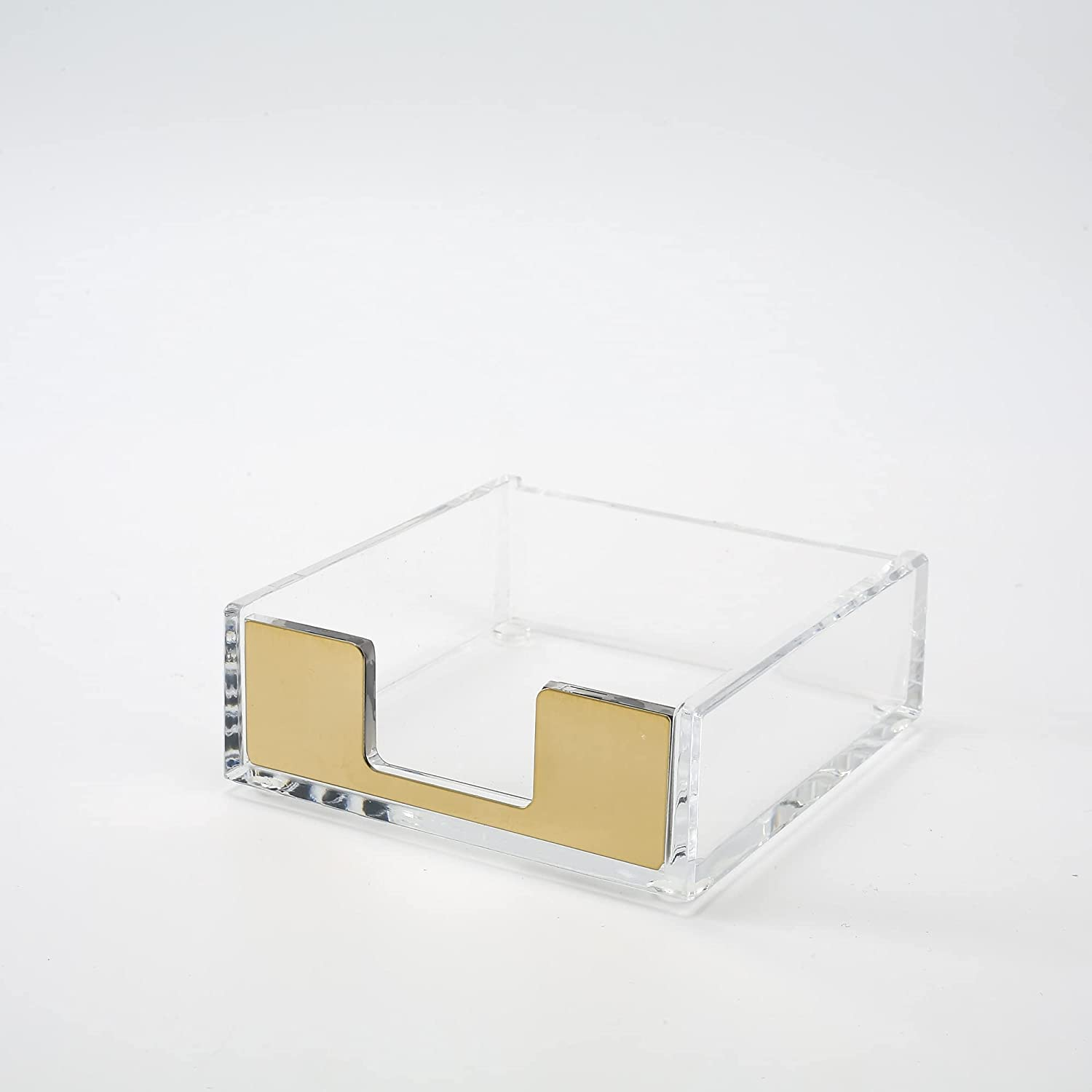 Animer and price revision Sticky Note Holder Clear Acrylic Mod Dispenser Notes Outlet ☆ Free Shipping Desk