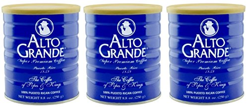 Alto Grande Super Premium Coffee Ground 8.8 Ounces - 3 cans