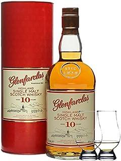 Glenfarclas 10 Jahre Single Malt Whisky 0,7 Liter  2 Glencairn Gläser