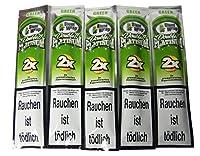5個セット BlantWrap Double Platinum ブラントラップ ダブルプラチナム 5 Packets (Green(Apple Martini)) [並行輸入品]