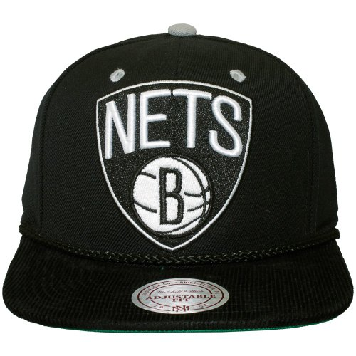 Mitchell & Ness - Casquette Snapback Homme Brooklyn Nets Viscord
