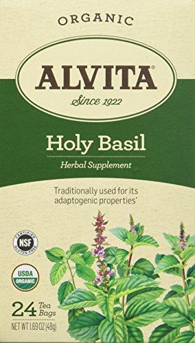 Holy Basil Tea Organic Alvita Tea 24 Bag