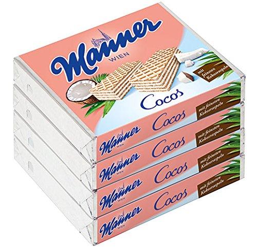 Manner - Schnitten Cocos, 4er Packung - 300g