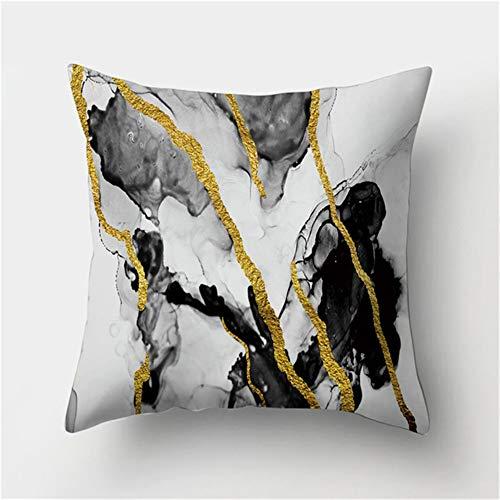 Fundas de Cojín Decorativos Gráfico abstracto Cuadradas Terciopelo Suave Funda de Almohada Cubierta para Cojines Sofá Sala de Estar Dormitorio Cama Decor Throw Pillow Case Pillowcase,50x50cm T4115