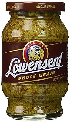 Lowensenf Whole Grain Mustard, 9.3 Ounce