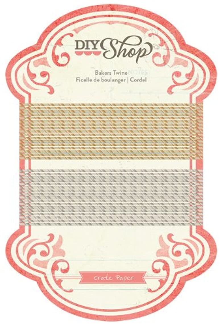 American Crafts DIY Shop Bakers Twine Embellishment
