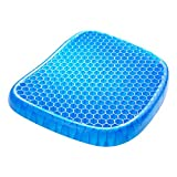 JEBBLAS Thick Big Gel Seat Cushion Egg Cushion The Latest Modified Double Gel