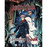 Jujutsu Kaisen Coloring Book: A Fabulous Coloring For Adults To Relax And Kick Back. Many Designs Of Jujutsu Kaisen To Color
