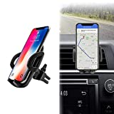Apsung Universal Smartphone Car Air Vent Mount Holder Cradle Compatible with iPhone Xs