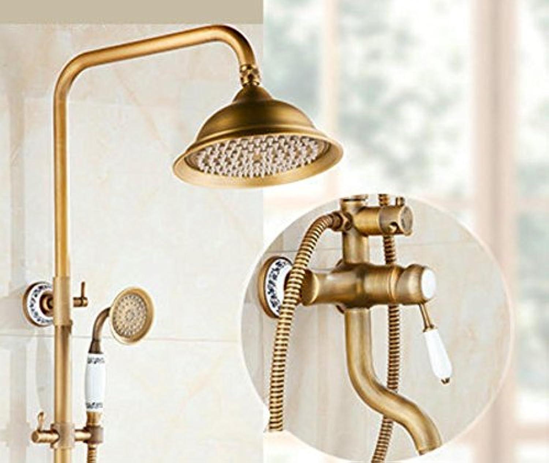 Antique continental shower shower copper wall mounted shower set shower set , h