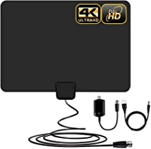 [Newest] Indoor Amplified HD Digital TV Antenna up to...