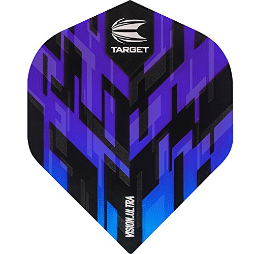 TARGET Sierra Dart Flights – Vision Ultra – No2 Standard – Blau – 5 Sets (15)