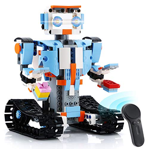 KeepRunning Remote Control Robot Kids Education Building Kit, Award-Winning STEM Learning Toy