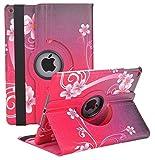 LayYun iPad Mini 5/Mini 4 Case, New iPad Mini 5th/ Mini 4th Gen Case 7.9' 2019 with 360 Degree Rotating Automatic Wake/Sleep Stand Case(Red Peach Heart)