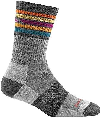 Darn Tough Kelso Micro Crew Light Cushion Sock - Women's Gray Medium