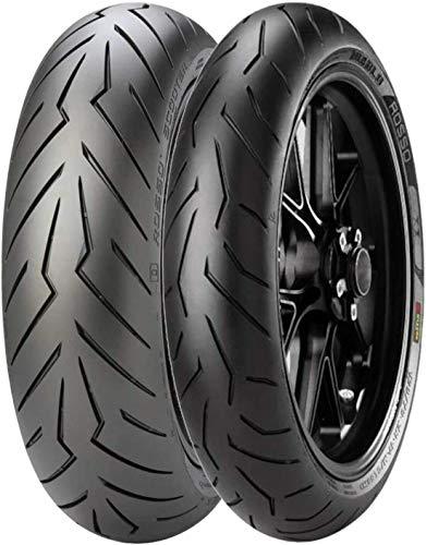 Accoppiata gomme RACING Pirelli Diablo Rosso 2 120/70 ZR 17 160/60 15 X-ADV 750