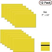 XLNT Engraving Double Color Laser Sheet, Yellow/Black (7