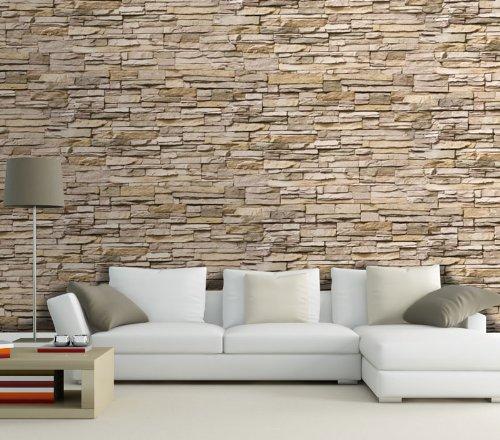 Dalinda Fototapete asiatische Steine T239 Größe: 420 x 270 cm Wandgestaltung Wanddekoration Fototapeten