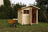cabex legno, co. s.r.l. -casetta ricovero attrezzi da giardino, doghe spessore 16 mm. modello [c200/1]