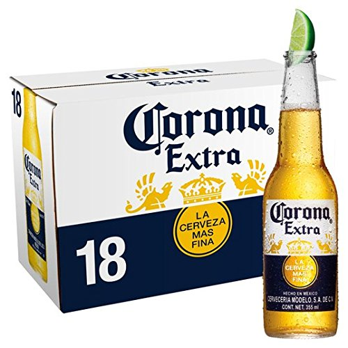 Ditooms Corona Extra Bier Label Reproduction en Aluminium 46 x 30,5 cm
