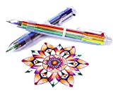 Best Multi Color Pens - Multicolor Pens - 24 Pack of 6-in-1 Retractable Review