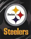 NFL Pittsburg Steelers King Size Super Plush Mink Blanket